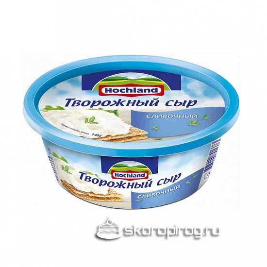 Творожный сыр для приготовления крема